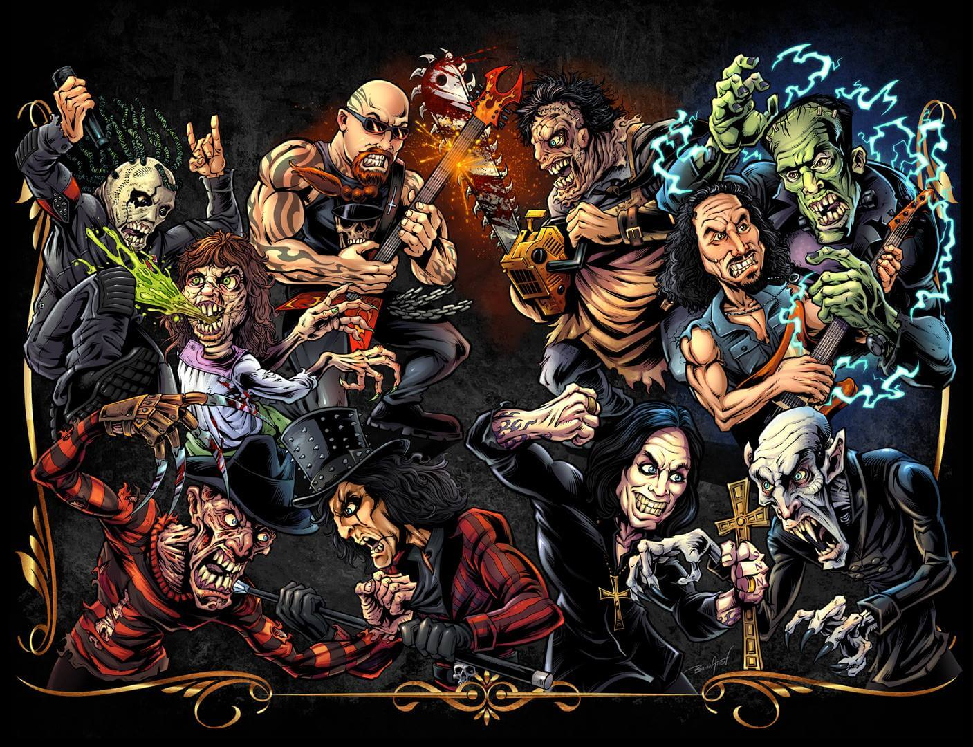 history of metal and horror 1 - Get a New Look at The History of Metal and Horror