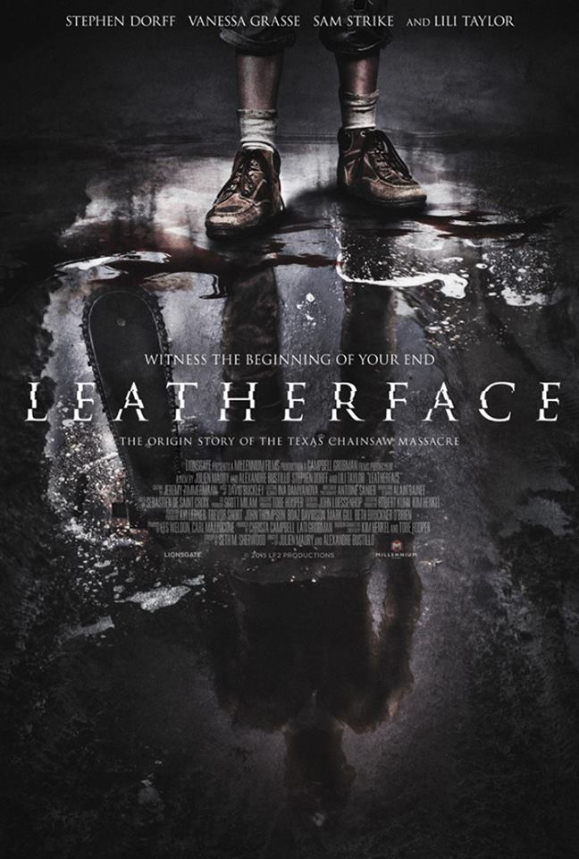 leatherface - New Leatherface Artwork - The Bloodshed Begins