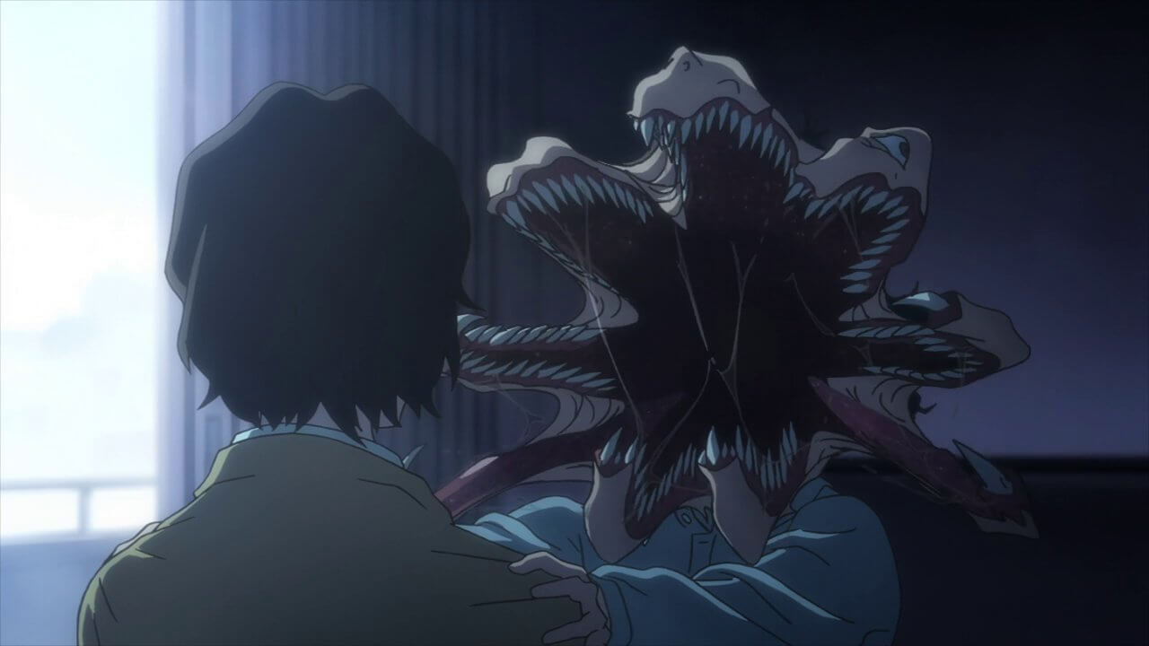 Parasyte The Maxim Trailer Invades Your Brain Dread Central