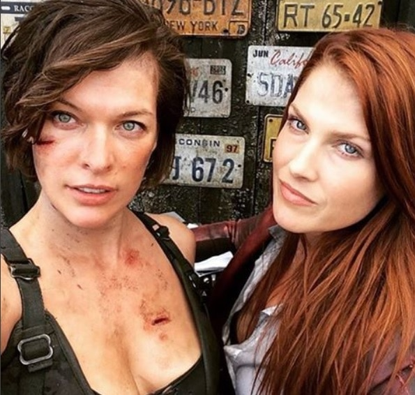 Even More Behind-the-Scenes Photos from Resident Evil: The