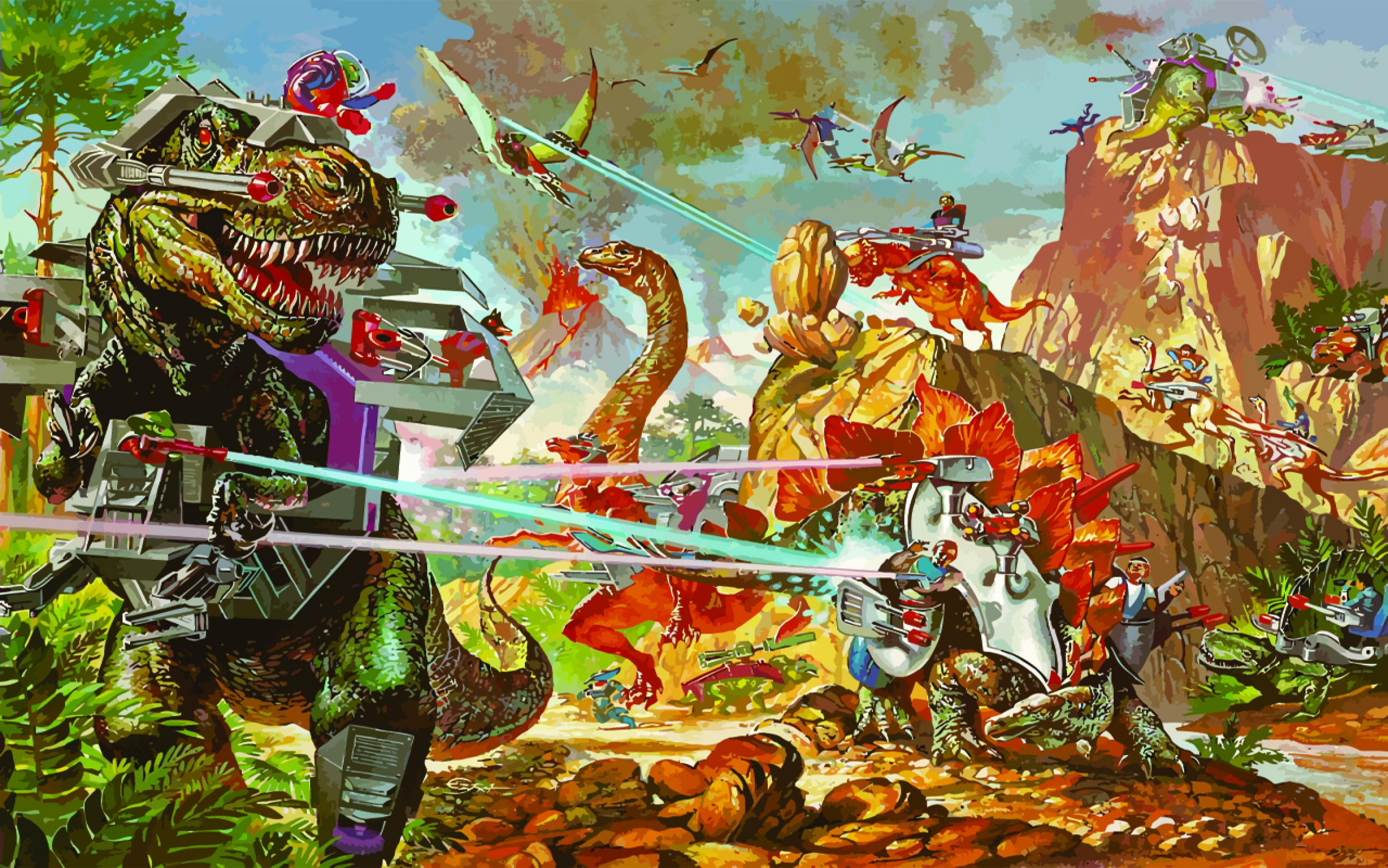 Dino Riders Movie - Dino-Riders Movie Reportedly in the Works at Mattel