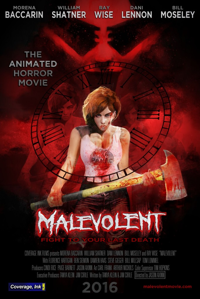 MAL poster 10 15 683x1024 - William Shatner Lends His Malevolent Voice to New Animated Feature