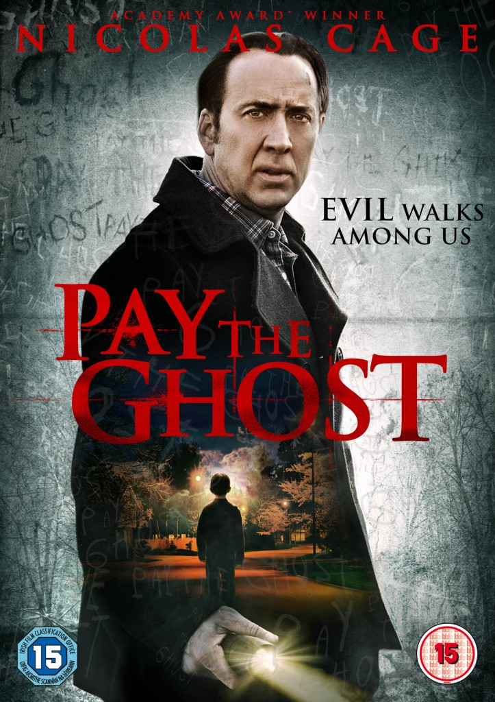 Pay the Ghost UK DVD Sleeve