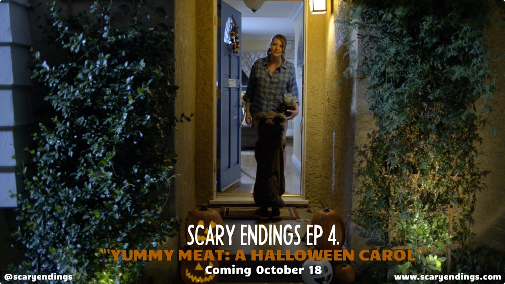 YM NEW - Yummy Meat: A Halloween Carol Set Visit Report and Exclusive Images; Screamfest Screening Tonight!
