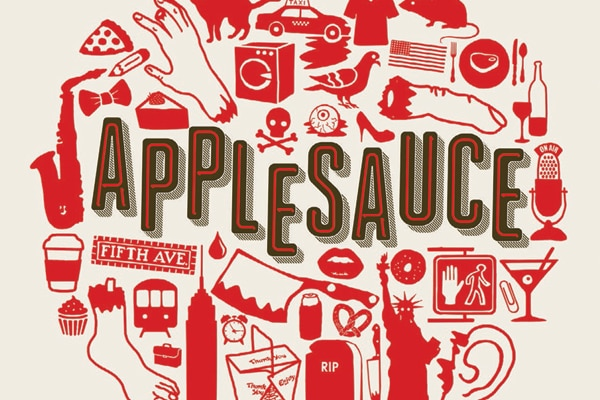 applesauces - Exclusive Applesauce Clip Pees on a Puppy