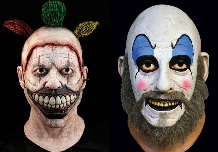 clowns the 10 coolest new horror movie halloween masks of 2015