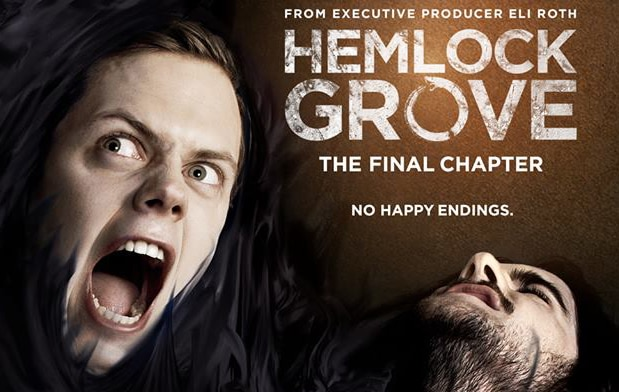 hemlockgrovefinaleposters - New Hemlock Grove Season 3 Clip Comes With a Hearty Helping of WTF