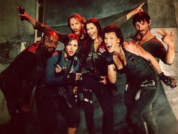 Ruby Rose 4 Others Join Cast Of Resident Evil The Final: More Behind-the-Scenes Photos From Resident Evil: The