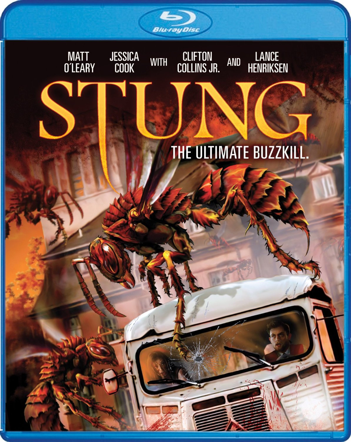 stung blu ray - Creature Feature Stung Flies Home This November