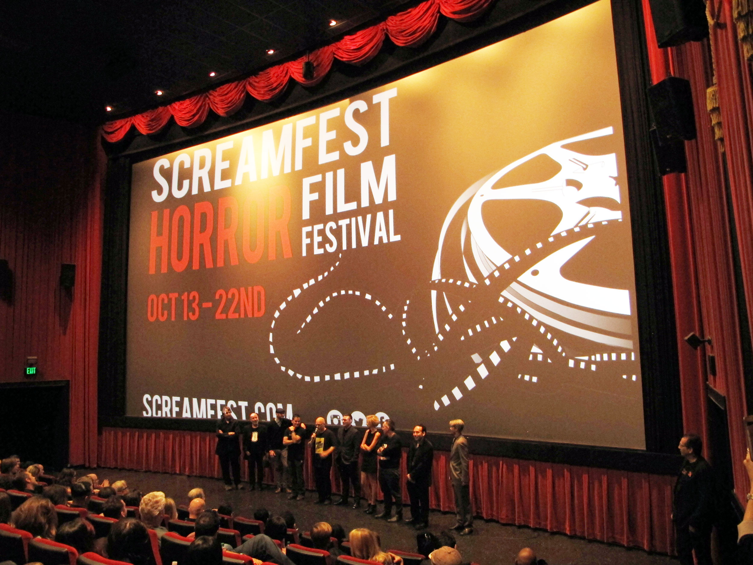 tales premiere - Dread Central Attends the Screamfest Premiere of Tales of Halloween