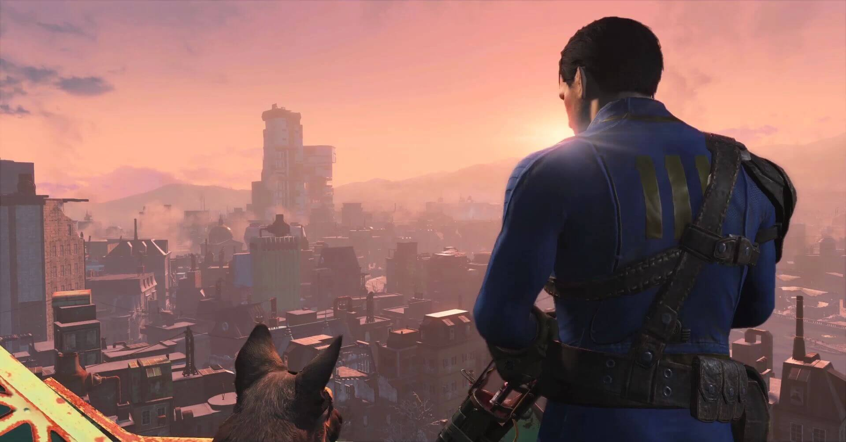 Fallout 4 Boston Skyline 1 - Fallout 4 Launch Trailer Brings the Apocalypse