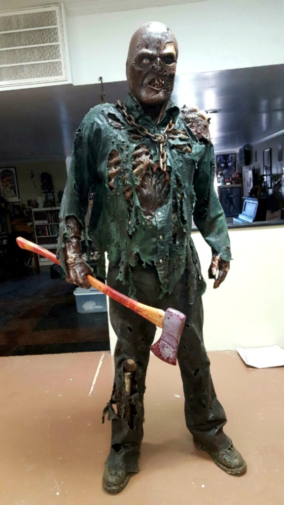 This Homemade Jason Voorhees Costume Is A Halloween Winner