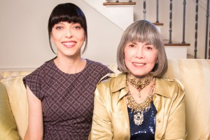 Juliet and Anne Rice 1 300x200 - Exclusive: Buffy's Juliet Landau Talks Her Documentary A Place Among the Undead - Part 1
