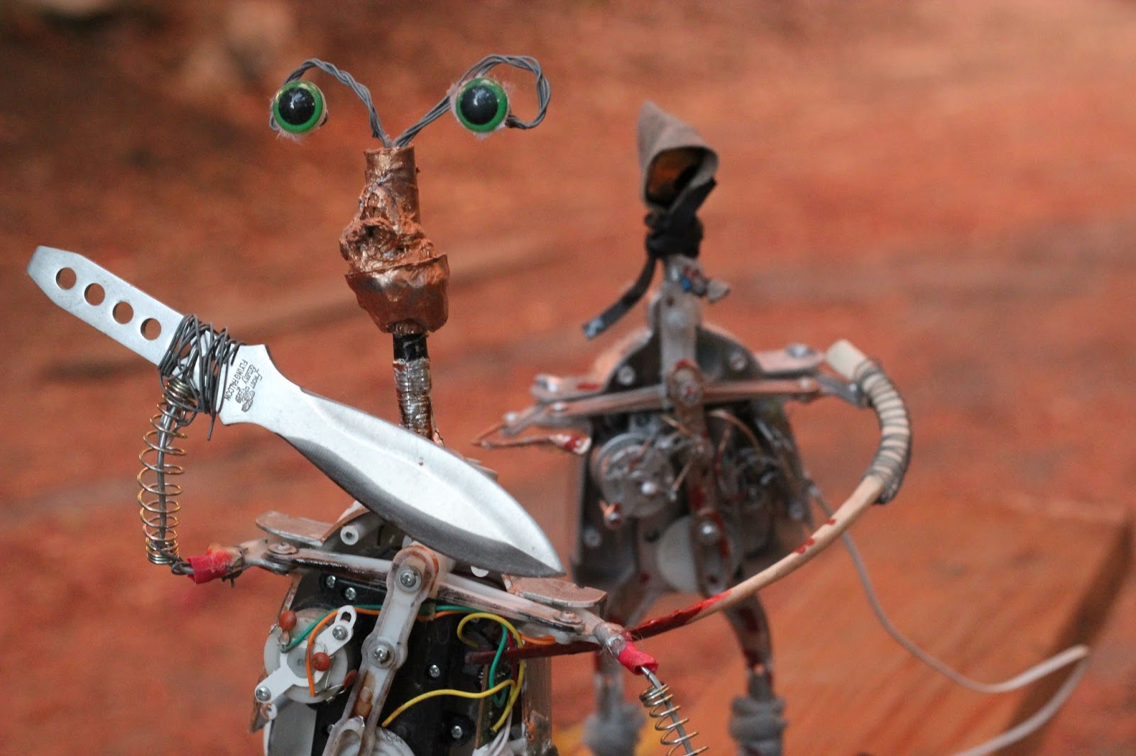 Killer Toy Robots - David Ury Sends Killer Toy Robots Out on a Rampage in Augustine