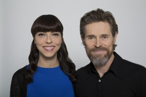 Willem and Juliet 300x200 - Exclusive: Buffy's Juliet Landau Talks Her Documentary A Place Among the Undead - Part 1