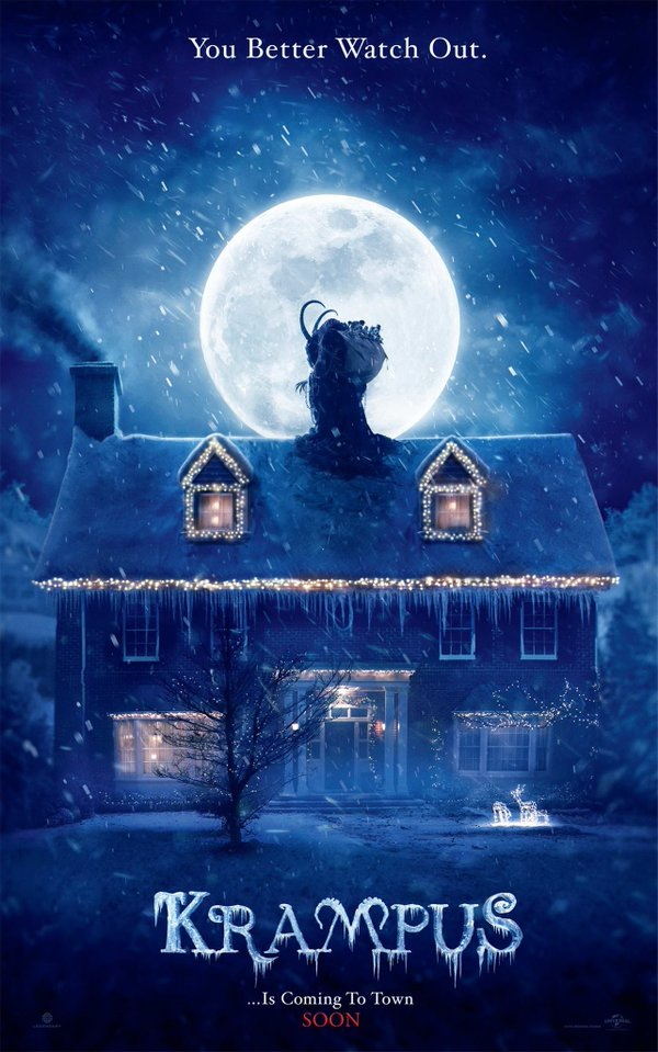 krampus poster - This Day In Horror History: KRAMPUS Opened in 2015