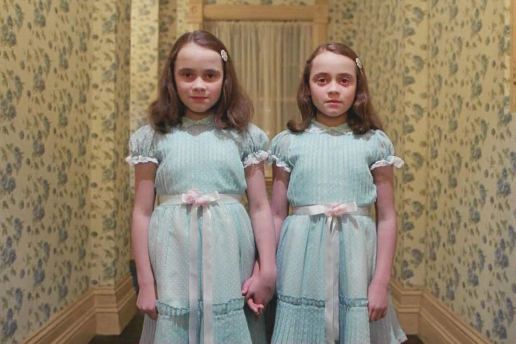 shining twins 1024x683 - The Twins Talk; Lisa and Louise Burns Reflect on The Shining