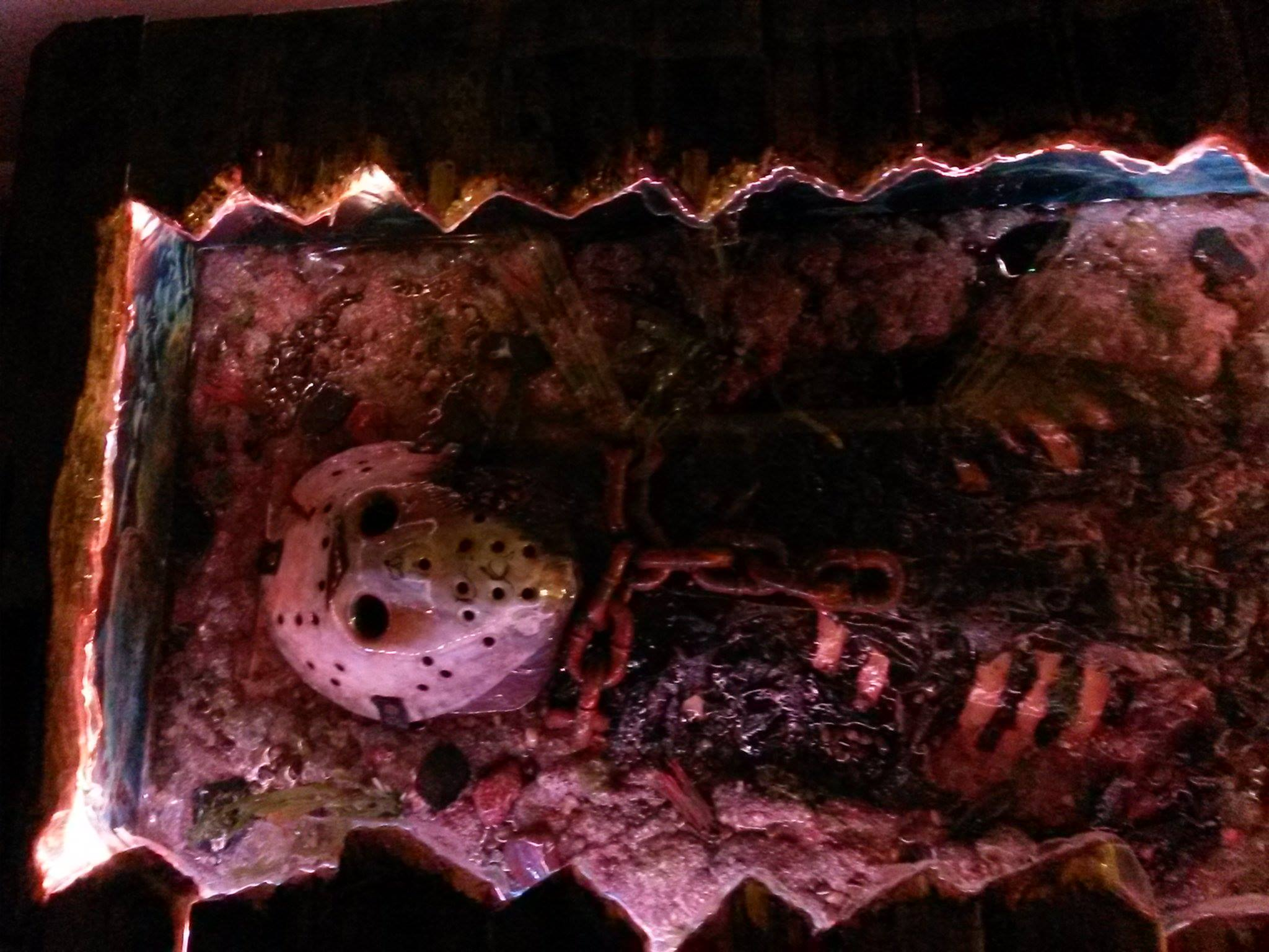 Fan Made Friday The 13th Coffee Table Will Drop Your Jaw Dread