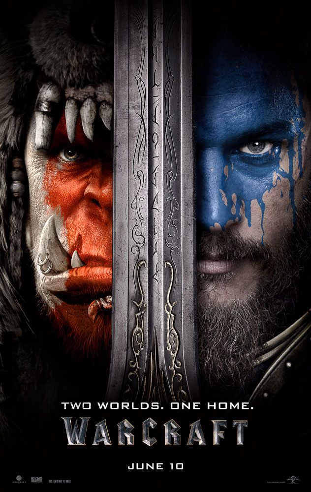 warcraftposter - See a Teaser of the Warcraft Trailer Arriving Later this Week