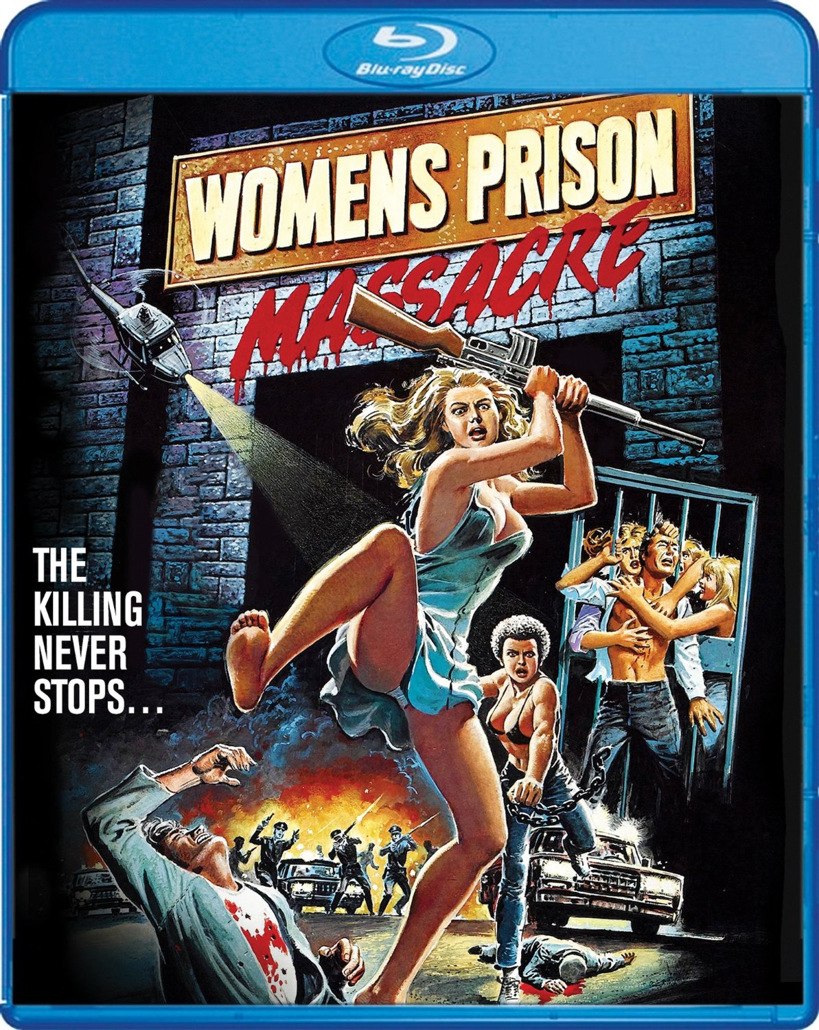 womens prison massacre - Women's Prison Massacre (Blu-ray)
