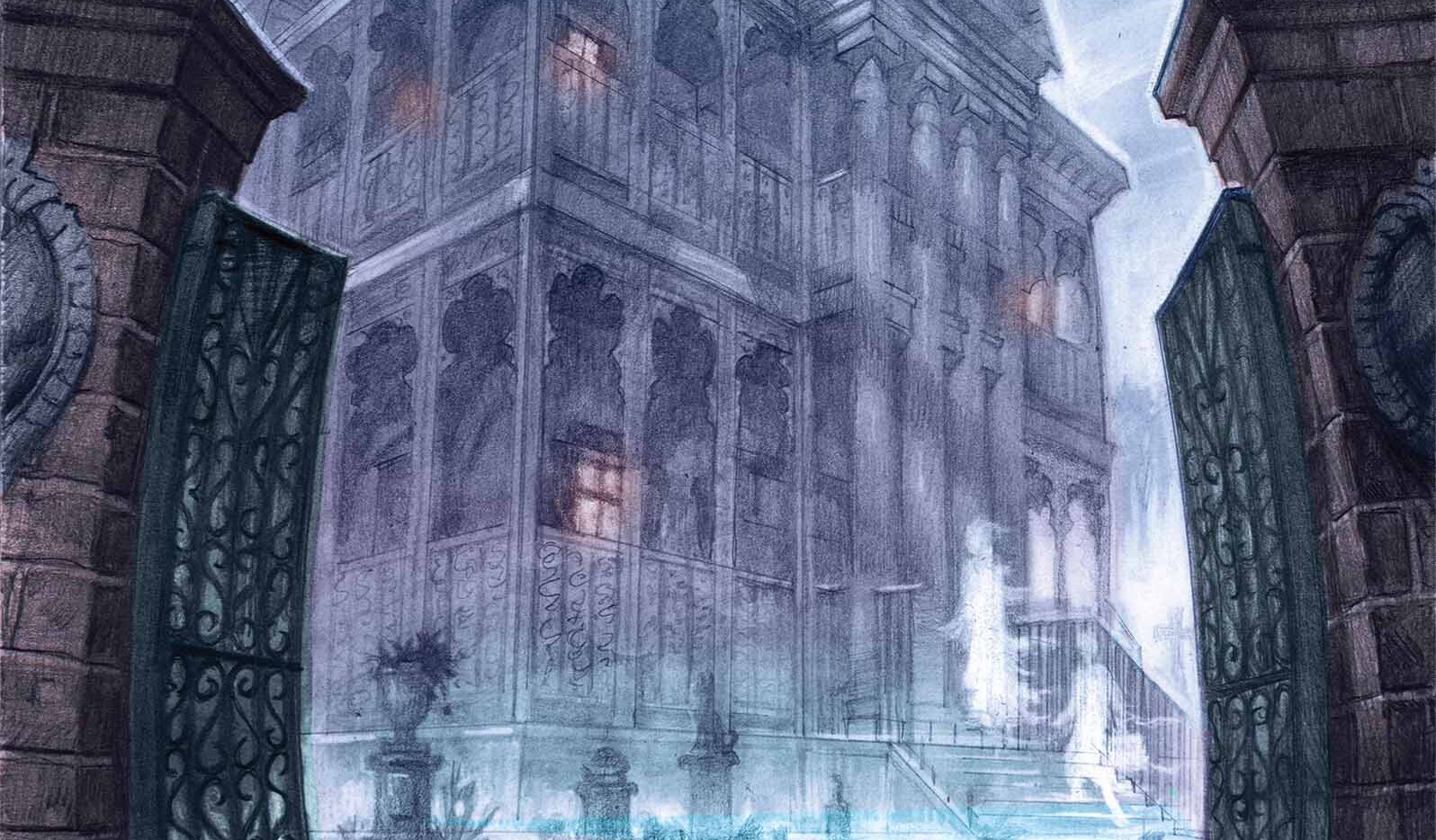 Haunted Mansion Covs - More Details on Marvel/Disney's The Haunted Mansion Comic Series