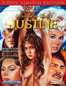 Marquis de Sades Justine 1969 231x300 - DVD and Blu-ray Releases: December 15, 2015