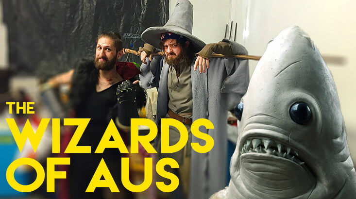 The Wizards of Aus 1 - Foul-Mouthed The Wizards of Aus Trailer Has Violence, Monsters, and More!