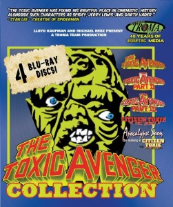 Toxic Avenger Collection 251x300 - DVD and Blu-ray Releases: December 15, 2015