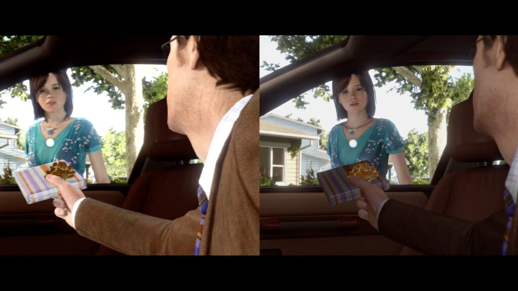 beyond two souls image comparison 1024x576 - Beyond: Two Souls - PS4 Remaster (Video Game)