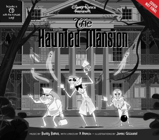 disneypresents thehauntedmansionbook - Disney's HAUNTED MANSION Snags New Director