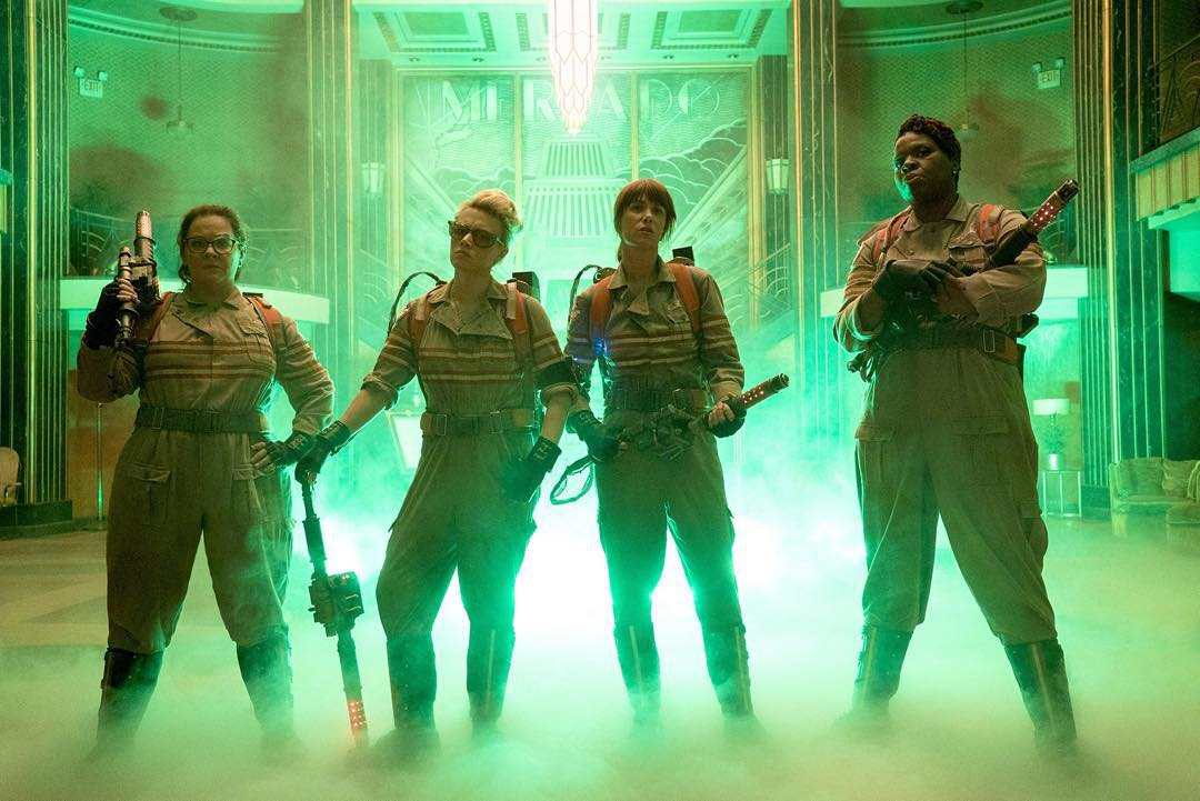 ghostbusters - New Ghostbusters Clip Goes Awry