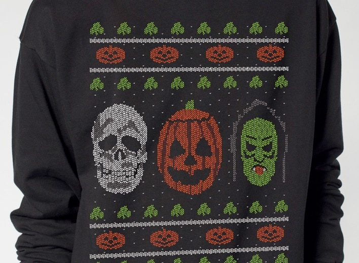 halloween 3 fright rags unleashes ugly christmas sweaters krampus jaws halloween 3