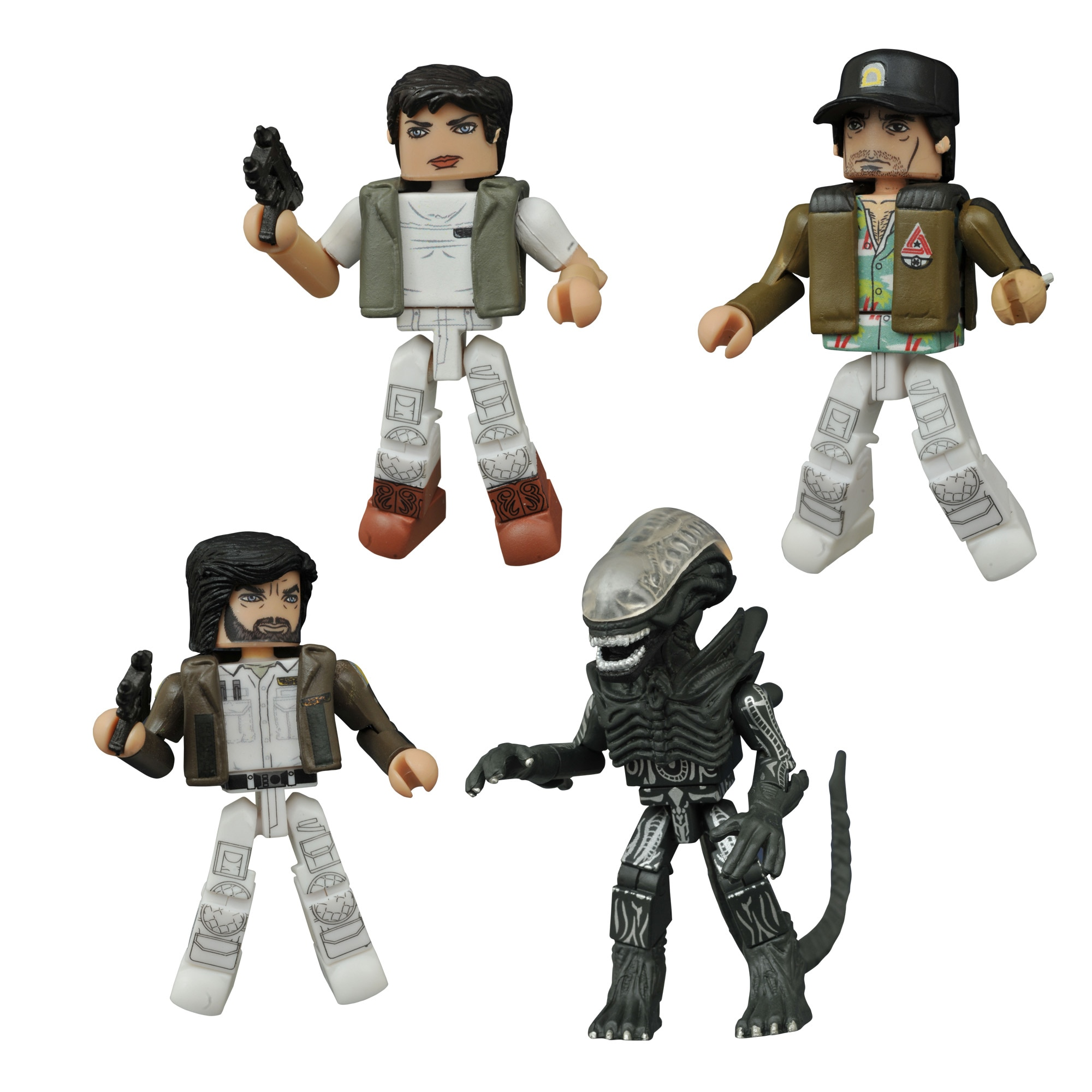 NostromoGroup - Diamond Select's New Alien Minimates Box Set Infiltrates Hastings Stores!