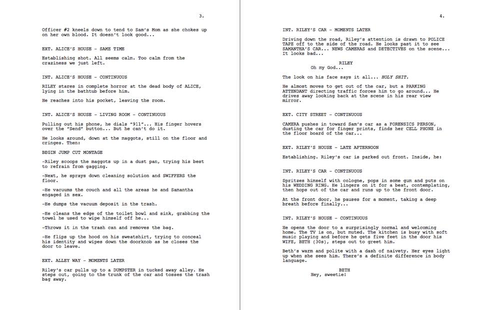 Contracted Director Shares Unmade Sequel Script Pages