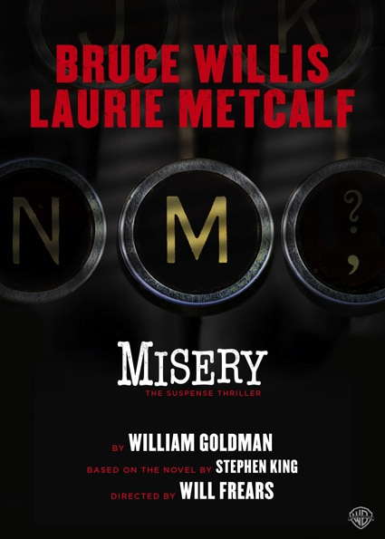 misery poster - Misery (Stage Play)