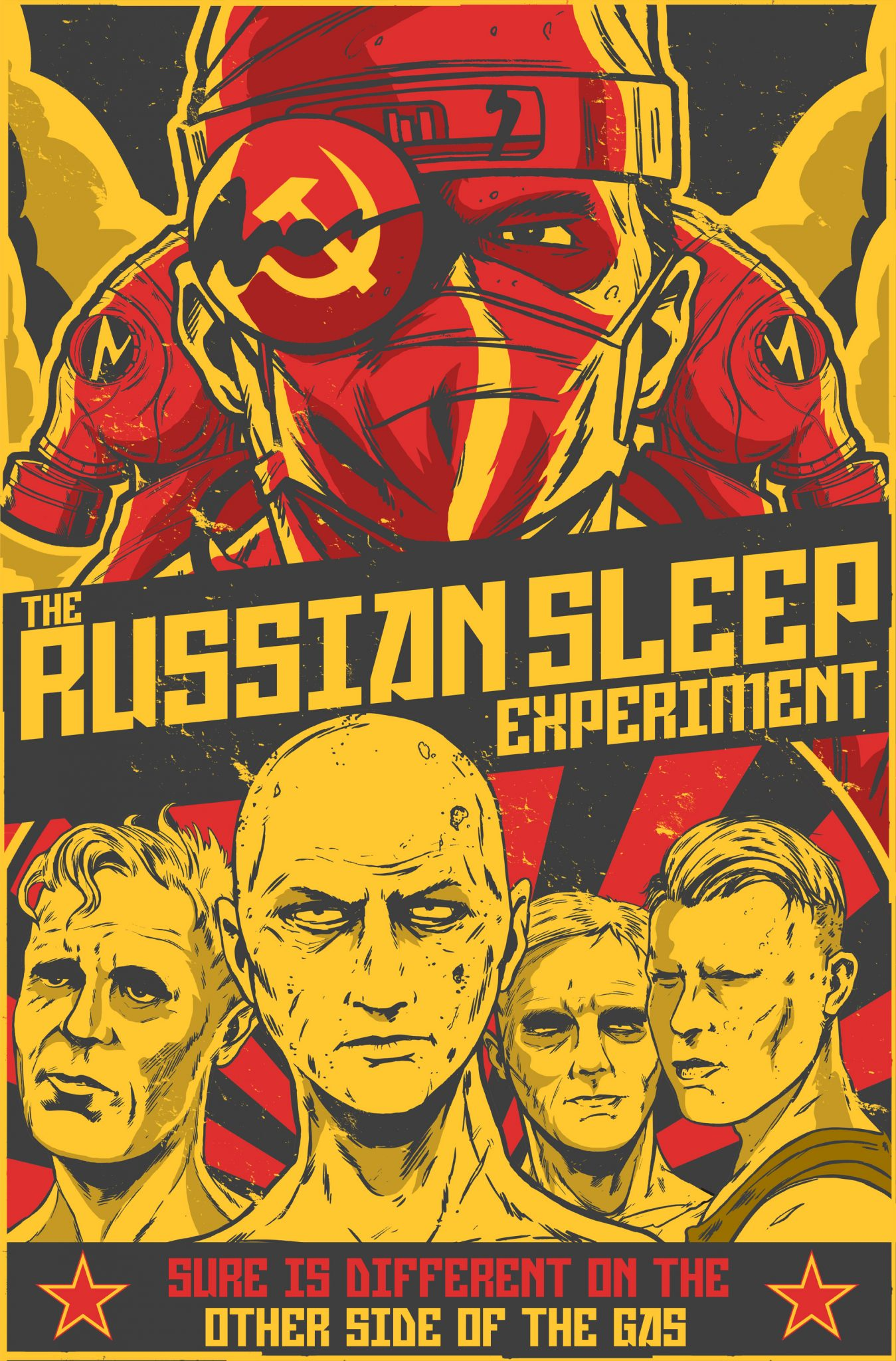 The Russian Sleep Experiment Creepypasta/Novella Now a Short