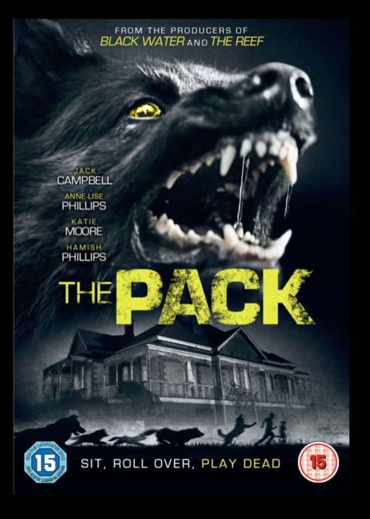 The Pack UK DVD Sleeve 731x1024 - UK Trailer for The Pack Bares Its Teeth