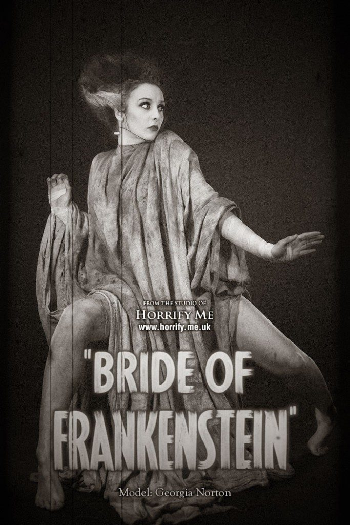 bride 19 683x1024 - This Bride of Frankenstein-Inspired Photoshoot Is Beautiful and Gory