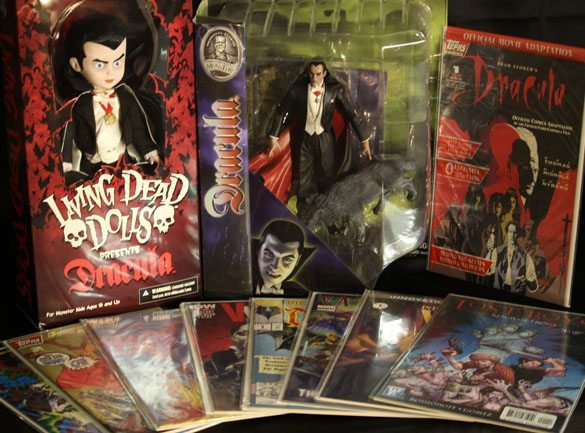 Dracula And Vampires In Box Of Dread's February 2016 Seventh Box