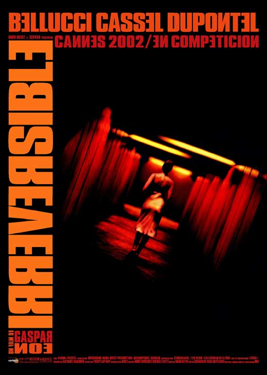 irreversible movie poster - The Artistic Merits of Irreversible