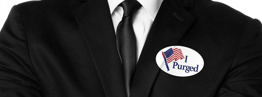 purgeelection1 - Purge Yourself of the GOP Debate with an Election Year TV Spot