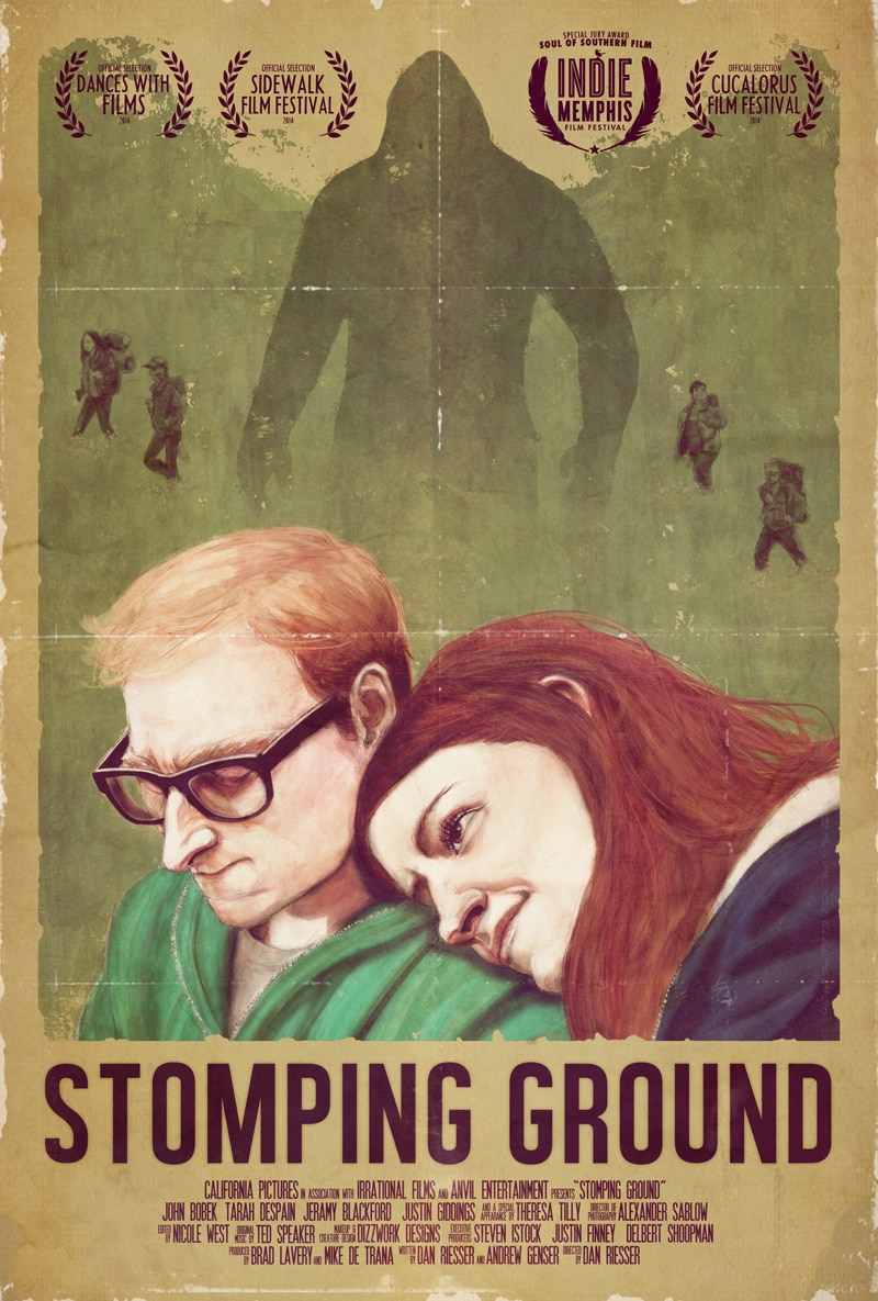 stomping ground poster 1 - Exclusive Stomping Ground Clip Makes Some Noise; Cast & Crew Signing Info