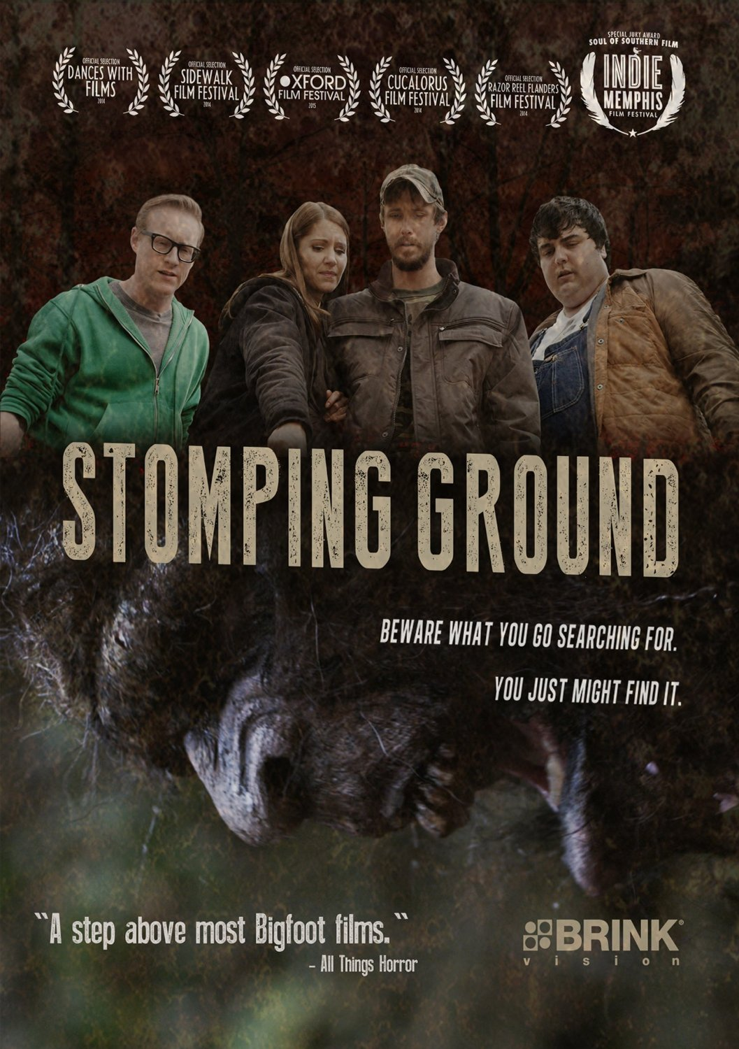 stomping ground poster - Exclusive Stomping Ground Clip Makes Some Noise; Cast & Crew Signing Info