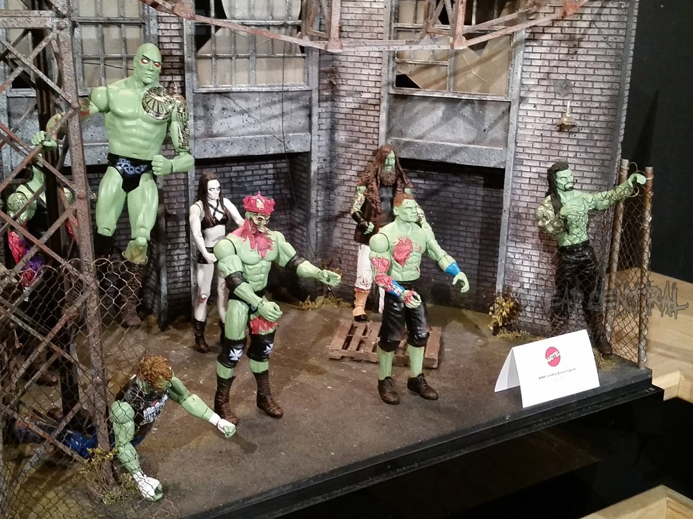 Toy Fair 2016 Wwe Zombies Are Coming Dread Central