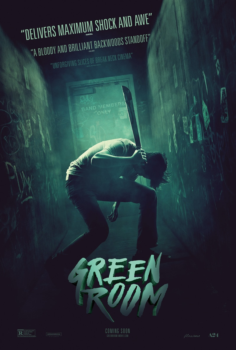 Green Room Poster - Dread Central's Best and Worst Horror Films of 2016