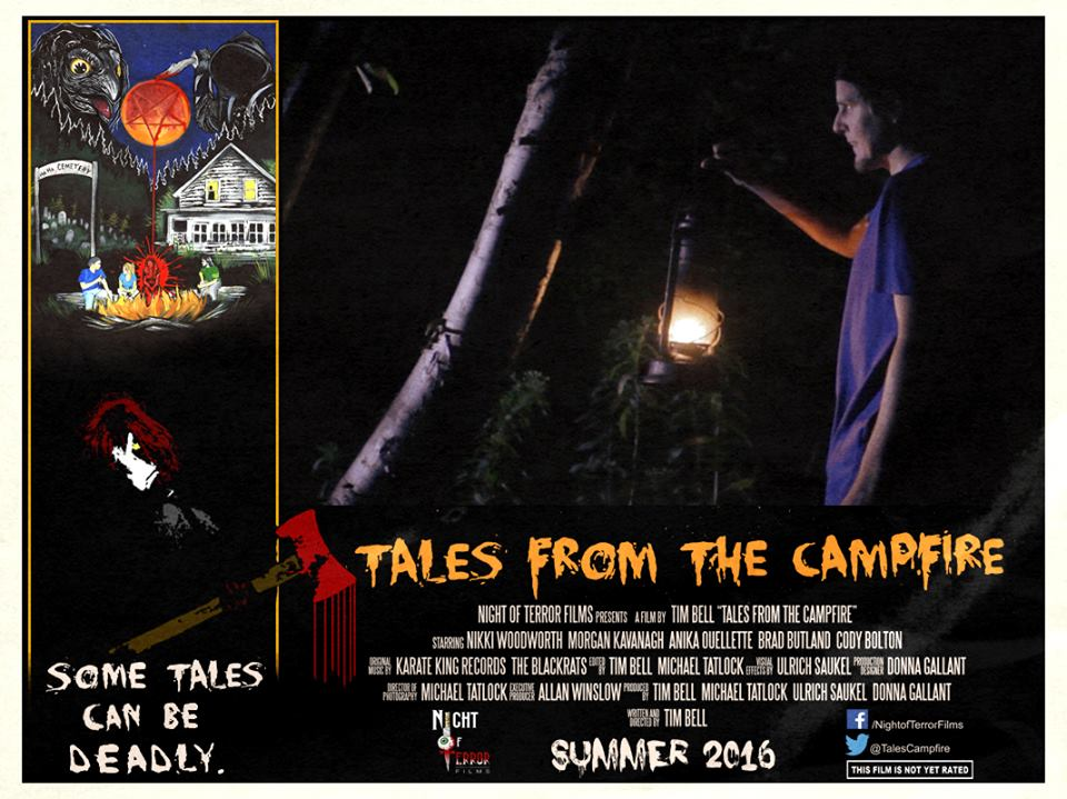 Tales from the Campfire Lobby Card 1 - Tales from the Campfire Unveils Two Retro-Flavored Trailers