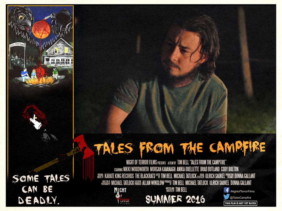 Tales from the Campfire Lobby Card 2 - Tales from the Campfire Unveils Two Retro-Flavored Trailers