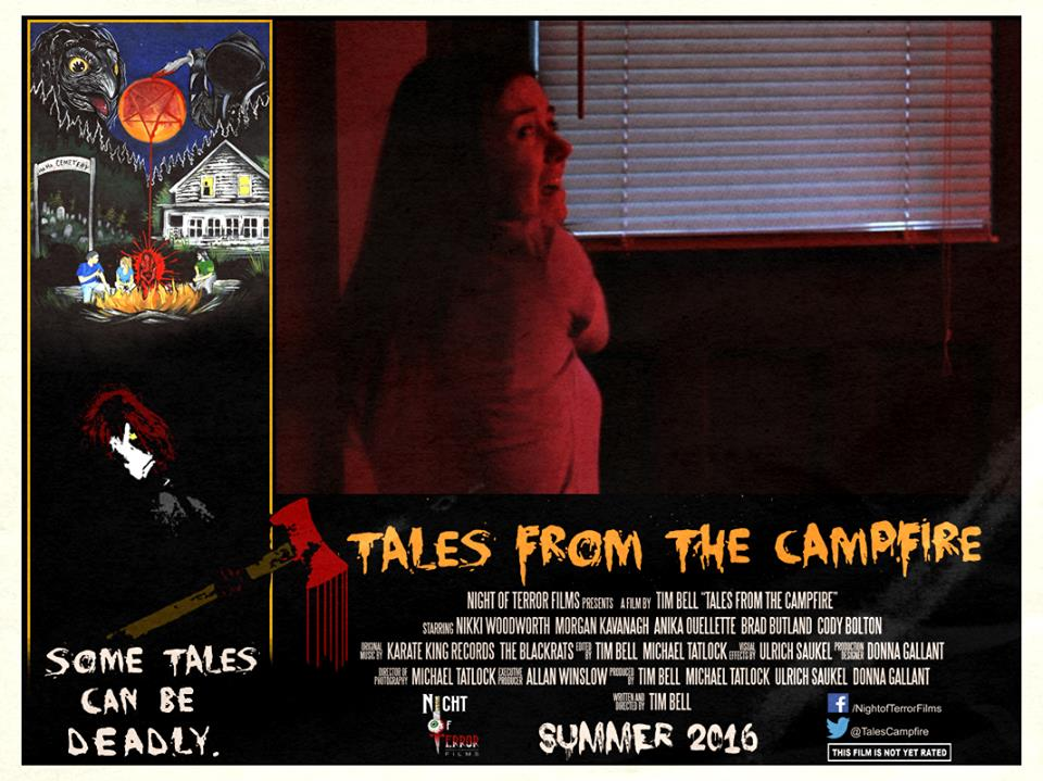 Tales from the Campfire Lobby Card 3 - Tales from the Campfire Unveils Two Retro-Flavored Trailers