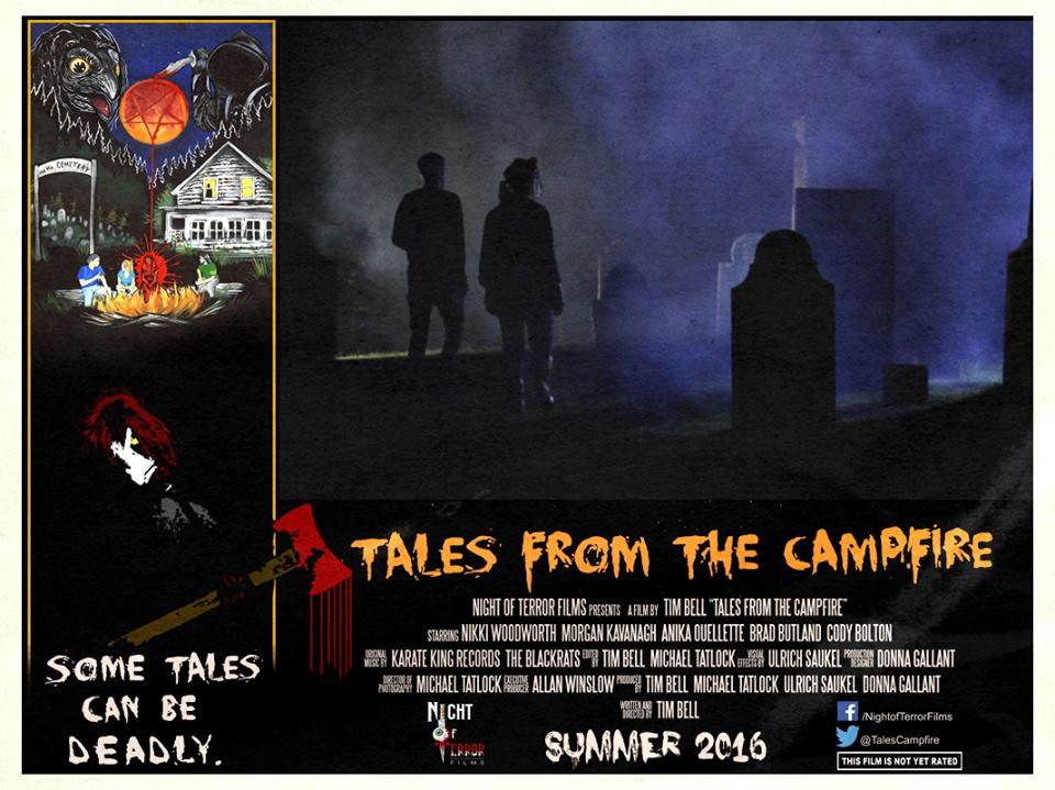 Tales from the Campfire Lobby Card 4 - Tales from the Campfire Unveils Two Retro-Flavored Trailers