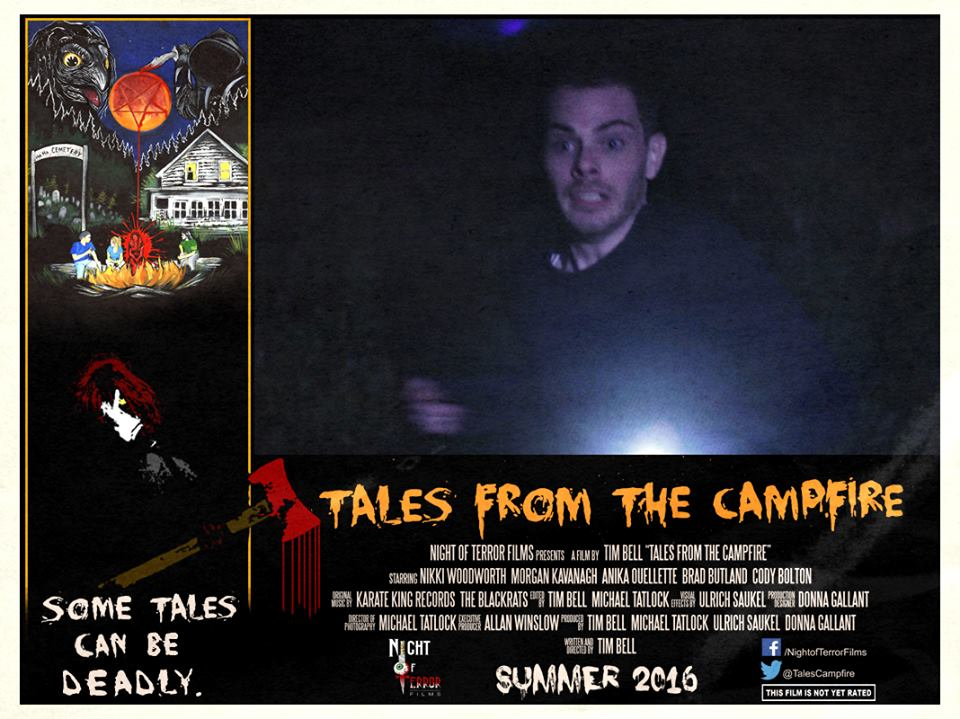 Tales from the Campfire Lobby Card 5 - Tales from the Campfire Unveils Two Retro-Flavored Trailers